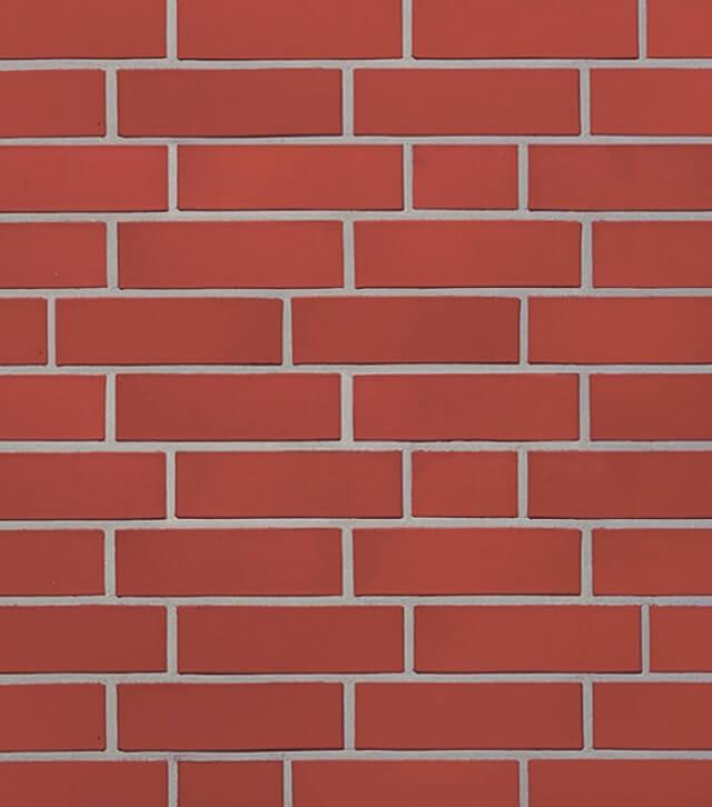 Roben - Westerwald, rot, NF14, 240x14x71, гладкая (glatt) - Клинкерная плитка для фасада и внутренней отделки