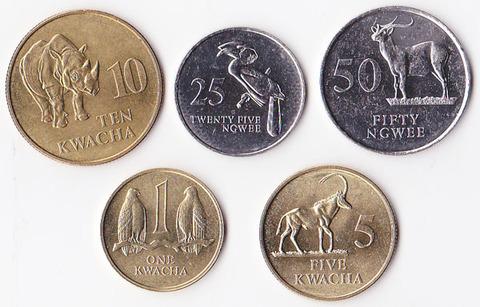 Замбия набор