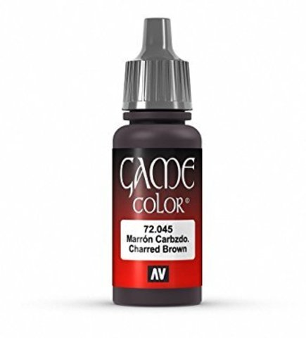 Game Color Charred Brown 17 ml.