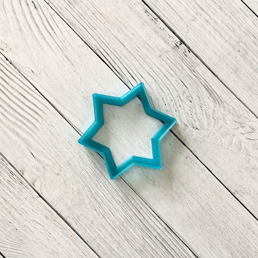 Звезда шестиконечная №1