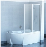 Шторка на ванну RAVAK VSK2 Rosa -140 L/R стекло