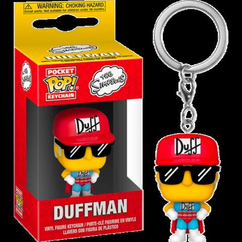 Брелок Funko Pocket Pop! Vinyl Keychain: The Simpsons - Duffman