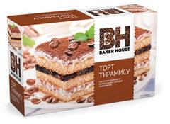"Бисквитный торт ""Baker House"" Тирамису 350г"