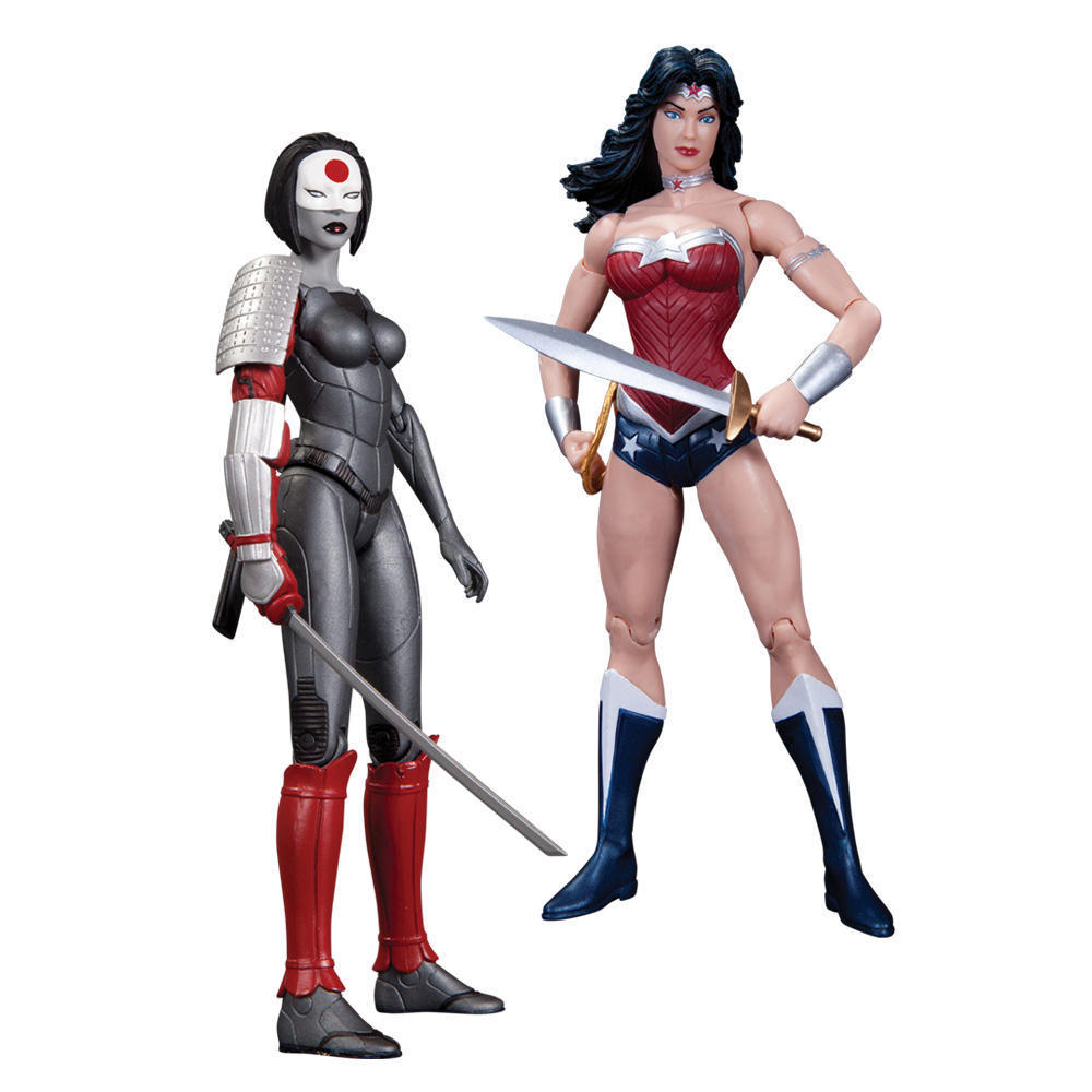 New 52 Justice League Figure Two-Pack - Wonder Woman Vs. Katana