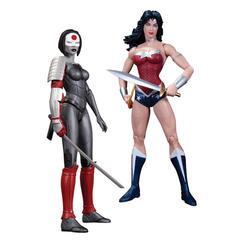 New 52 Justice League Figure Two-Pack - Wonder Woman Vs. Katana
