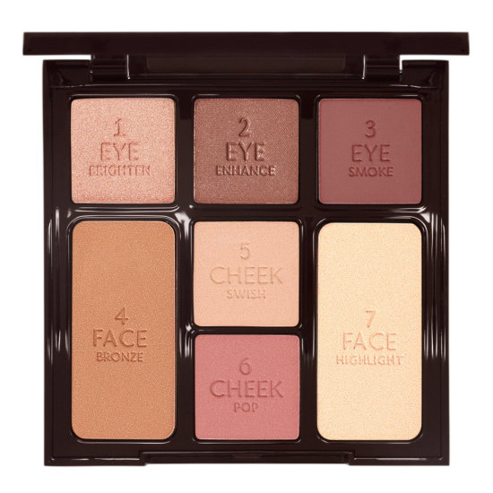 Палетка для лица Charlotte Tilbury Instant Look In a Palette Gorgeous Glowing Beauty