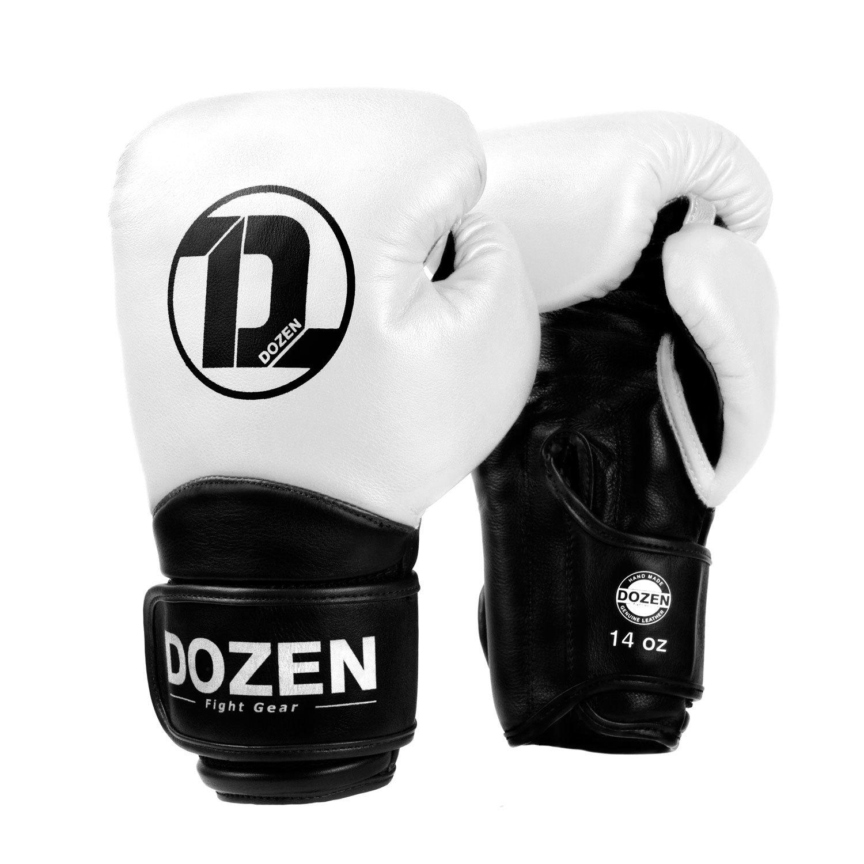 Перчатки Dozen Dual Impact White/Black главный вид