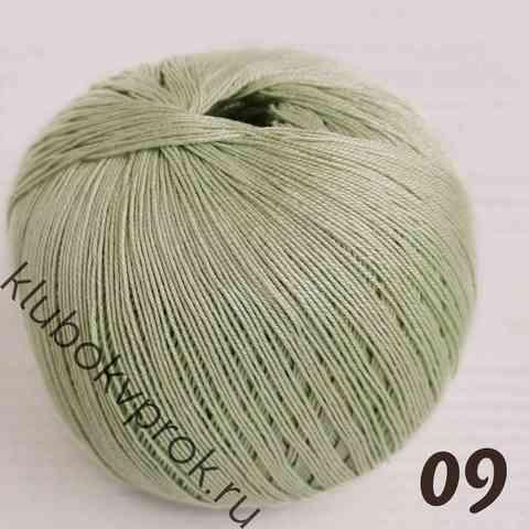 ПЕХОРКА ЦВЕТНОЕ КРУЖЕВО 09, Зеленое яблоко