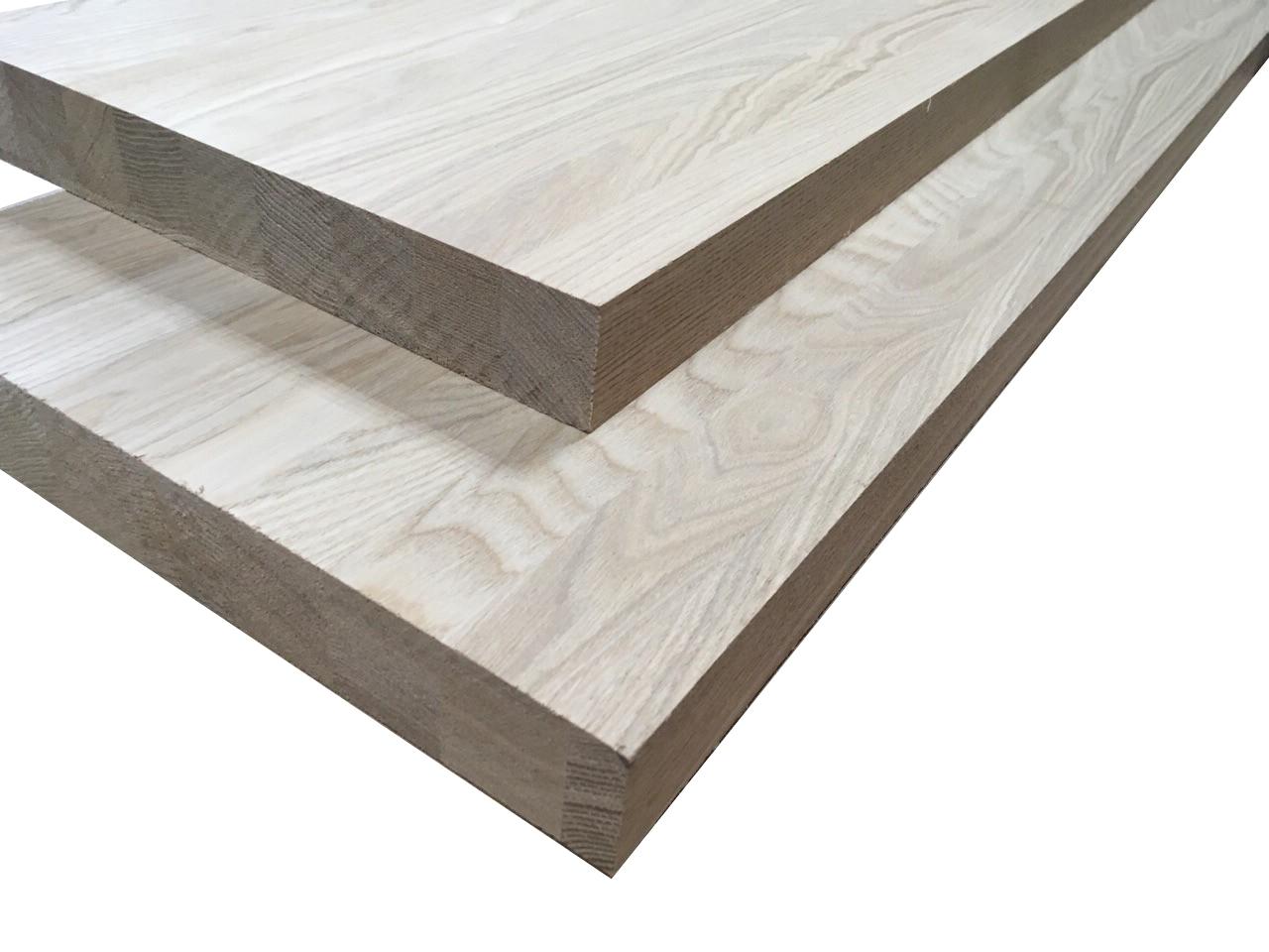 Мебельный щит из ясеня цельноламельного 40х600х2800 мм
