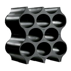 Подставка для бутылок SET-UP, черная, фото 1