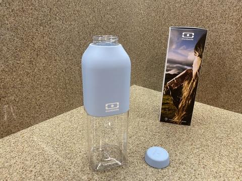 Бутылка для воды спортивная многоразовая MB Positive 0,5 л черная