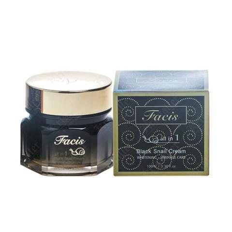 Facis Крем для лица МУЦИН УЛИТКИ All-In-One Black Snail Cream, 100 мл