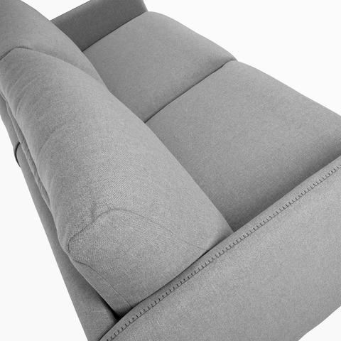 Диван-кровать Komoon 140 полиуретановый светло-серый