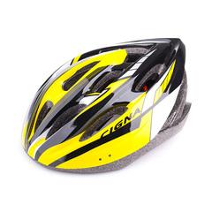 Велошлем Cigna WT-040 (чёрный/жёлтый/белый)