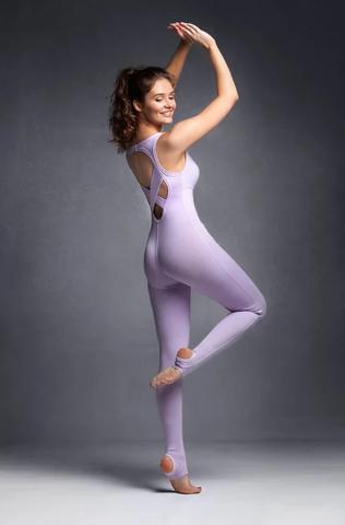 Комбинезон для йоги c лямками на спине