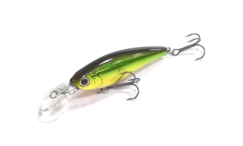 Воблер Daiwa Steez Shad 60 F-SR / Green Gold (07431405)