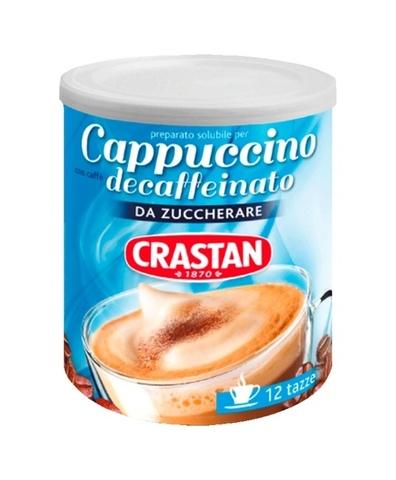 Напиток Кофейный Каппучино без кофеина б/сах б/глют Crastan 150г