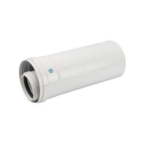 Труба для коаксиального дымохода STOUT D60/100 мм, длина 250 мм (для конденсационного котла)