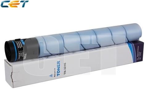 Тонер-картридж TN-321C для KONICA MINOLTA Bizhub C224/C284/C364/C224e/C284e (CET) Cyan, 514г, 25000 стр., CET7263