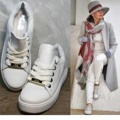 Модные кеды для женщин Molly shoes 557 Whate