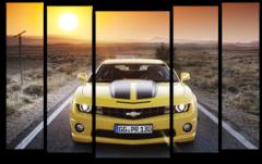 "Модульная картина ""Chevrolet Camaro"""