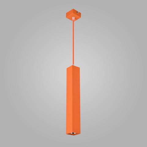 Подвесной светодиодный светильник 50154/1 LED оранжевый