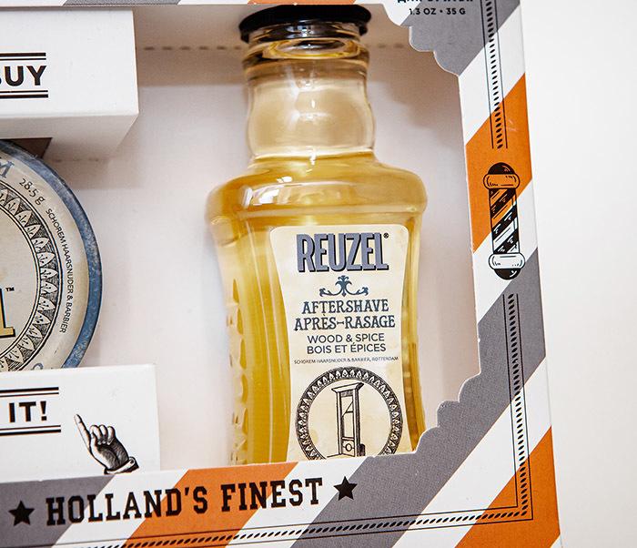CARE170 Подарочный набор для бритья REUZEL «SHAVING KIT» крем и лосьон фото 03