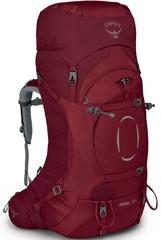 Рюкзак женский туристический Osprey Ariel 65 Claret Red