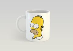 Кружка с рисунком из мультфильма Симпсоны (The Simpsons) белая 008