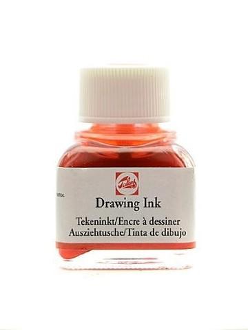 Тушь DRAWING INK банка 11 мл цв.№235, оранжевая