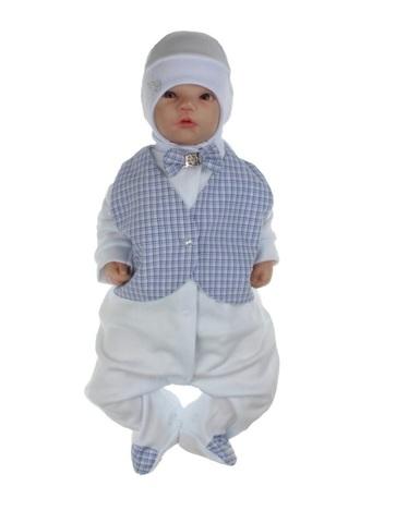 Костюм на выписку для новорожденного мальчика Trendy
