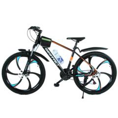 Велосипед Gestalt G-777 литые диски Черно-оранжевый