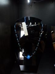 Ожерелье Монте Амиата с голубой бусиной