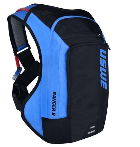 Рюкзак поилка USWE Ranger 9 black/blue
