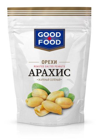 GOOD FOOD Арахис жареный солёный 150 г