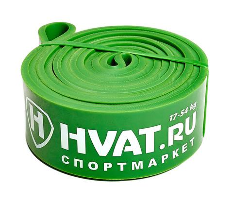 Купить зеленую резиновую петлю эспандер дляЙ тренировок и фитнеса 17 - 54 кг