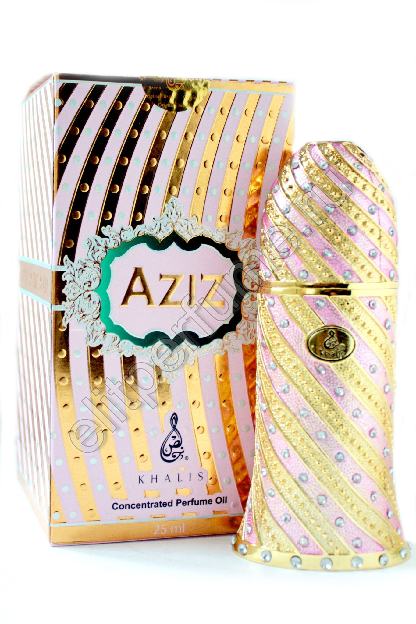 Aziz Азиз 18 мл арабские масляные духи от Халис Khalis Perfumes