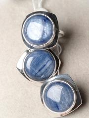 Тура (кольцо + серьги из серебра)