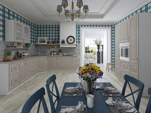 Кухня Верона-2 белый, ясень шимо светлый