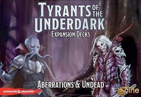D&D - Tyrants of the Underdark Aberrations & Undead
