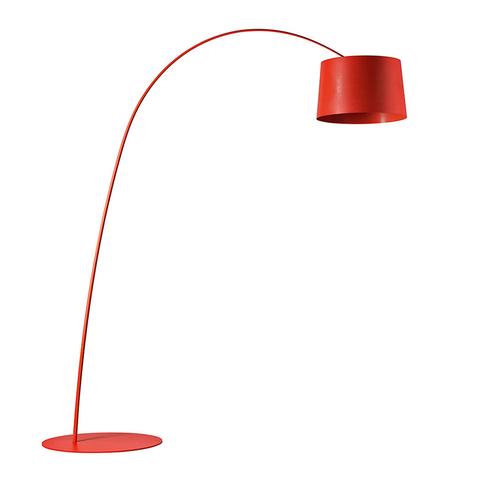 Напольный светильник копия Twiggy by Foscarini (красный)