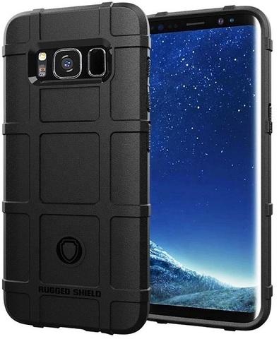 Чехол Samsung Galaxy S8 цвет Black (черный), серия Armor, Caseport