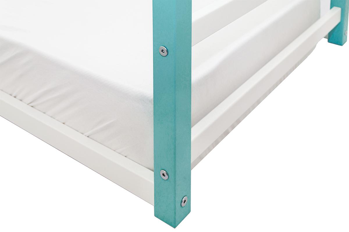 Кровать-домик Монтессори «Svogen» мятно-белый