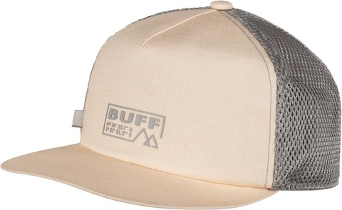 Кепка складывающаяся Buff Pack Trucker Cap Solid Sand фото 1