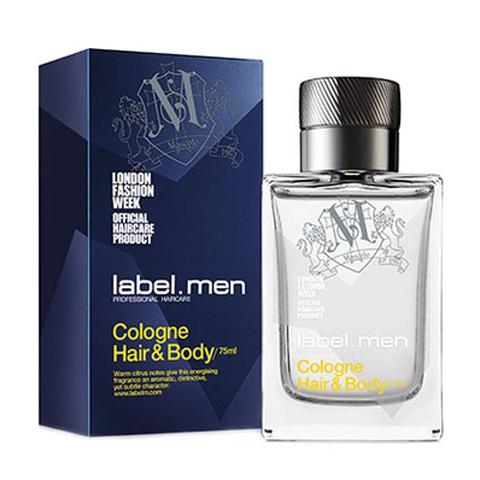 LABEL.MEN: Одеколон для мужских волос и тела (Cologne Hair & Body), 75мл