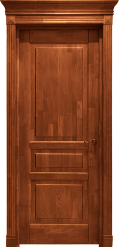 Дверь Лидер-Альверо Александра (янтарь, глухая, массив дуба)