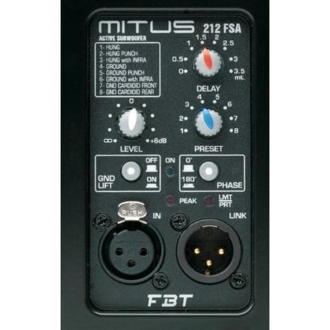 Сабвуферы активные FBT Mitus 212FSA