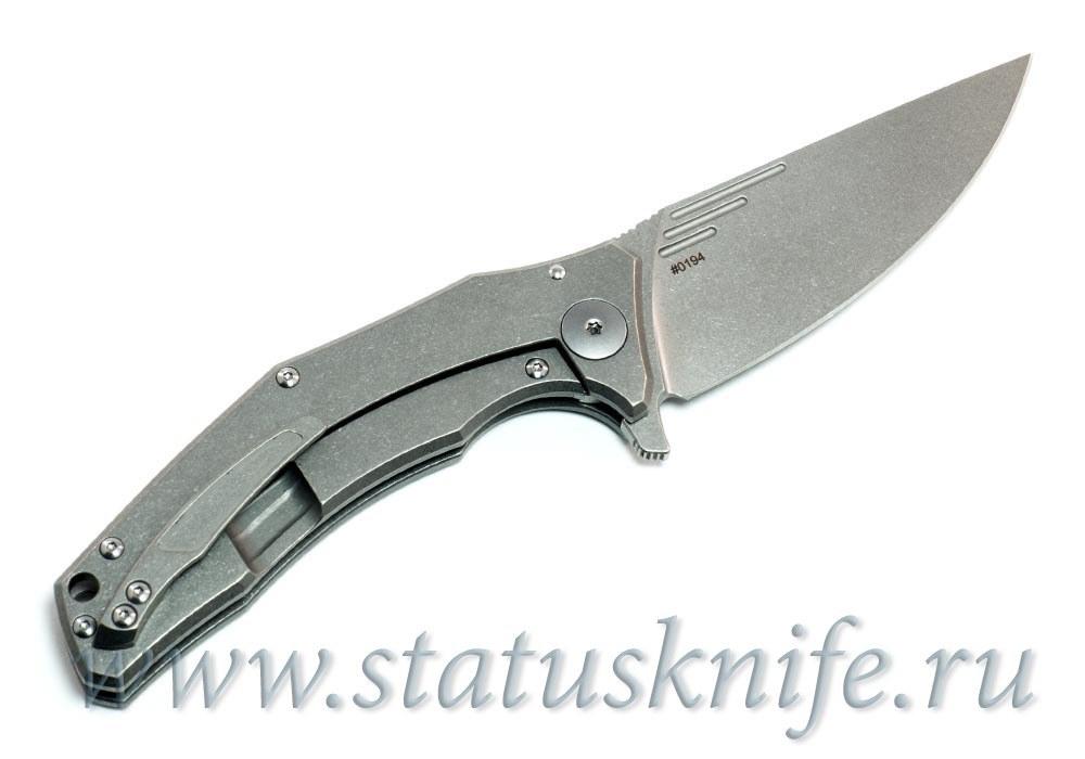 Нож CKF MORRF-4 М390 Евгений Муан - фотография