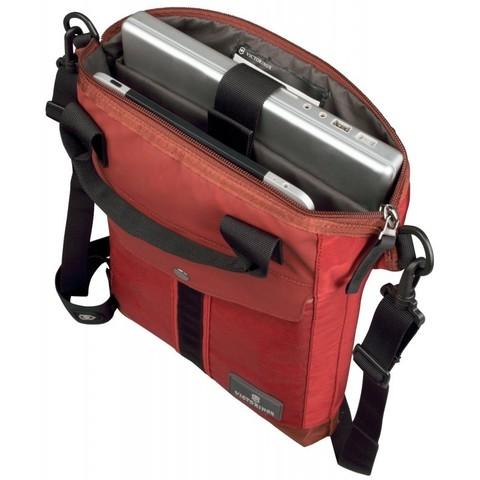 Сумка Victorinox Altmont 3.0 Slimline Tote, красная, 31x6x41 см, 7 л