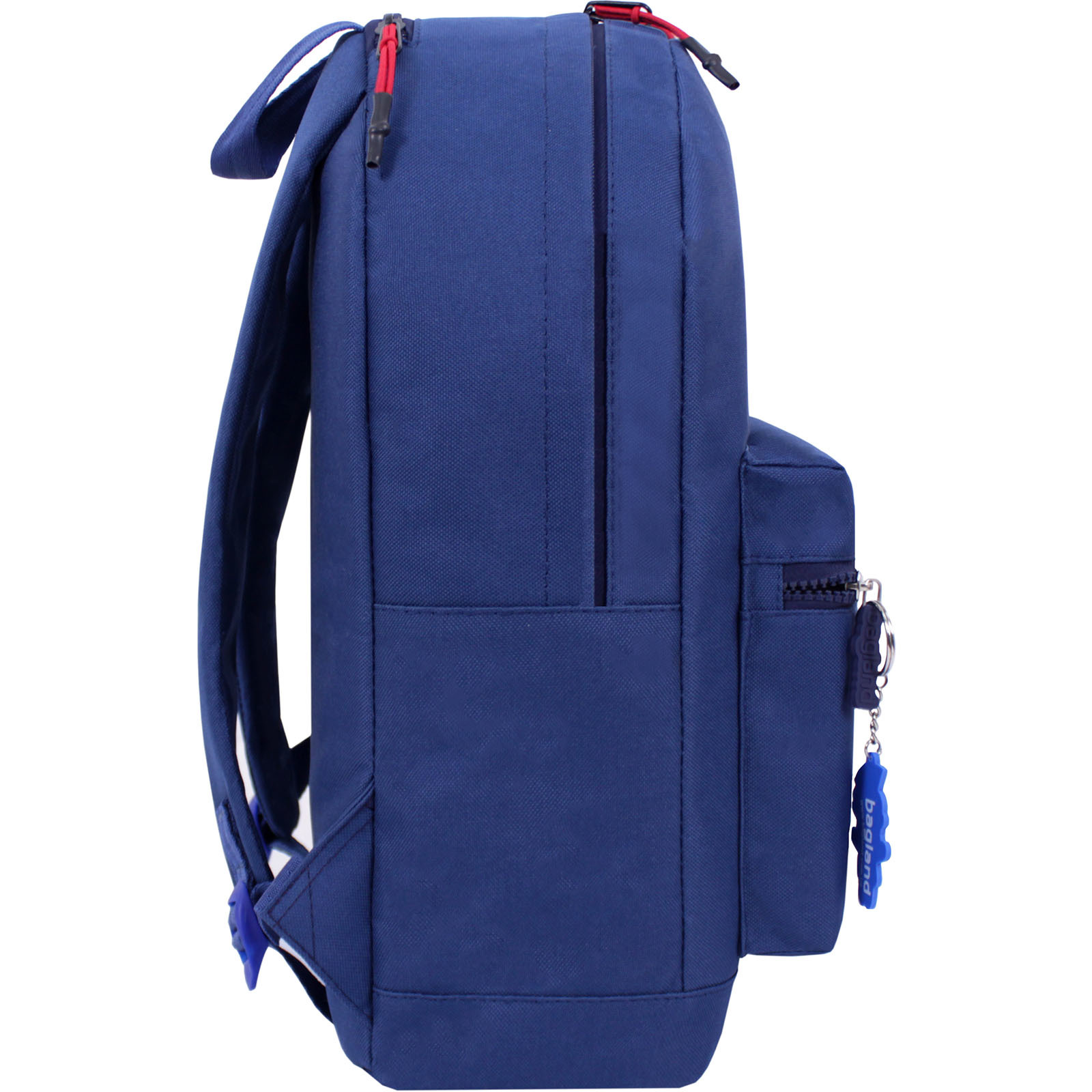 Рюкзак Bagland Hood W/R 17 л. синий 453 (0054466) фото 2